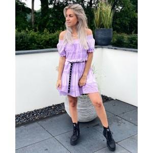 Kiana off shoulder dress lila