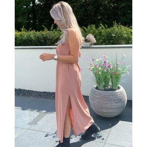 Lesley maxi dress soft pink