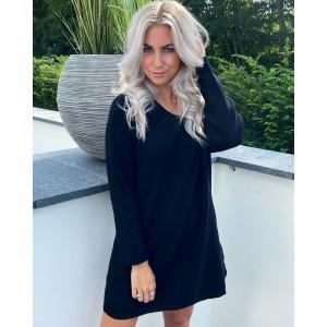 Lieve sweater dress black