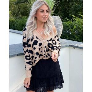 Mika leopard sweater