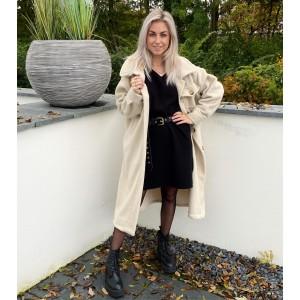Vera oversized jacket creme
