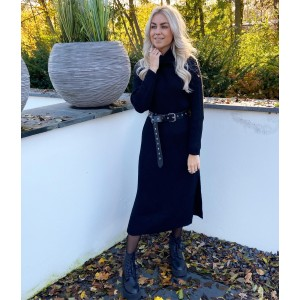 Elize knit dress black