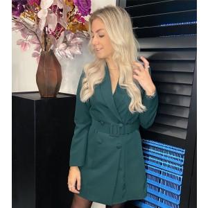 Kelly blazer dress green