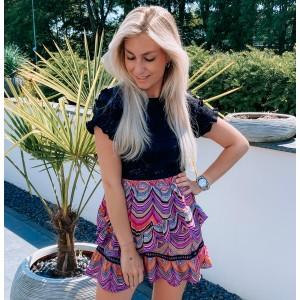 Annaly skirt purple
