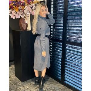 Sammie sweater dress grey