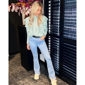 Mila flared jeans blue