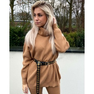 Noortje sweater camel