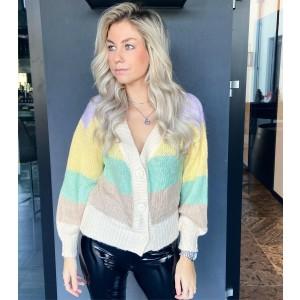 Fenna sweater rainbow