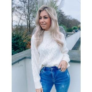 Layla sweater white