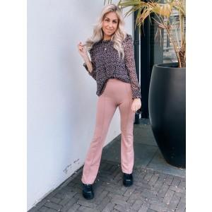 Kaylee pantalon flared old pink