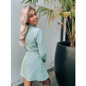Kelly blazer dress mint