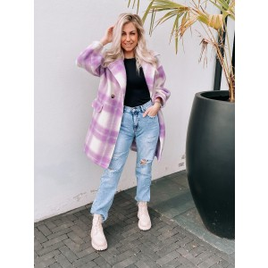 Kyara coat purple
