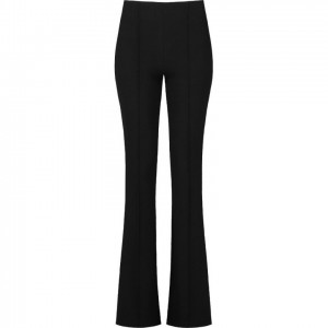 Floor pantalon flared black