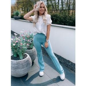Kaylee pantalon flared mint