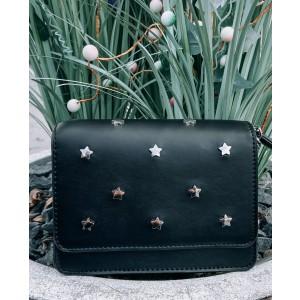 Lana leather bag black
