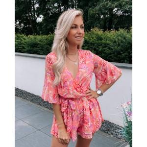 Esmay playsuit pink