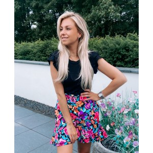 Loyza flower skirt multi