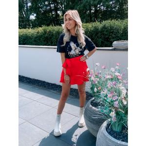 Donna skirt red