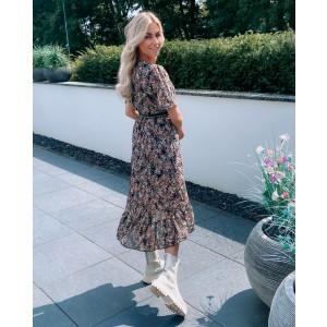 Roxa ruffle dress long