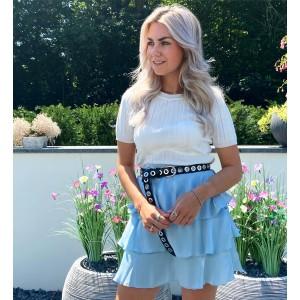 Beau skirt blue