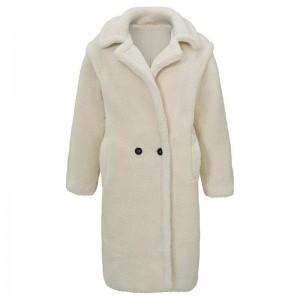 Jess teddy coat creme