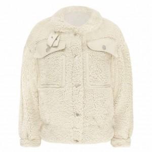 Bobbie teddy jacket creme