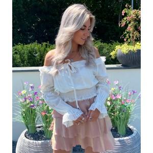 Beau skirt light pink