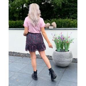 Naomi flower skirt pink