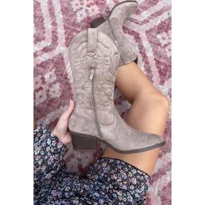Lis suède shoes taupe