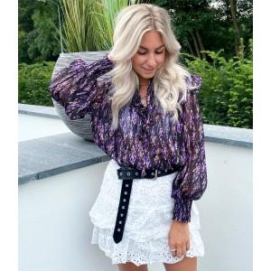 Bobby blouse purple