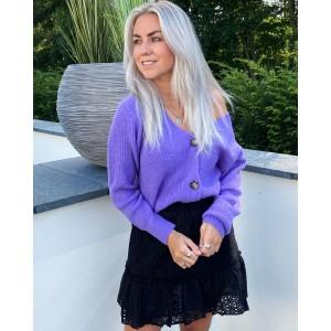 Nina sweater purple