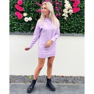 Noortje hoodie dress purple