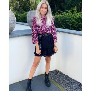 Kyla blouse purple