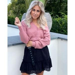 Mindy sweater rose