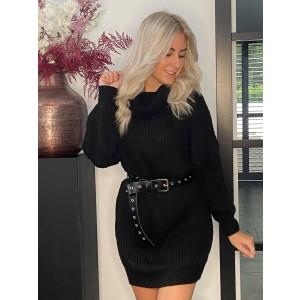 Joan dress black