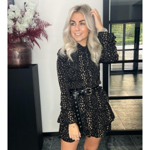 Lynn dress black/gold