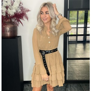 Steef dress beige