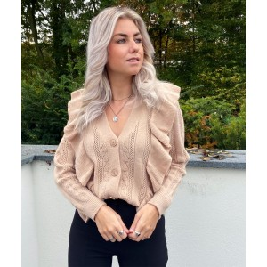 Hilly sweater taupe