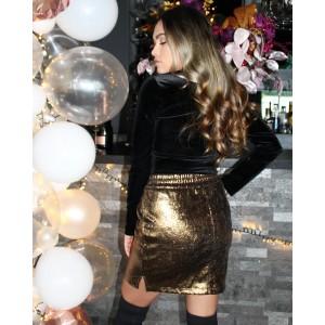 Nitsa skirt gold