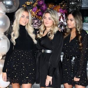 Stella leopard skirt black