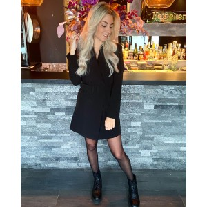 Kelly blazer dress black