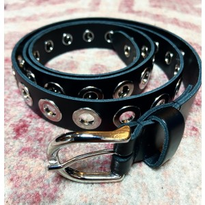 Tommie belt silver