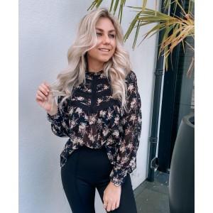 Kaylee pantalon flared black