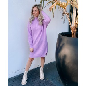 Lisa sweater dress purple