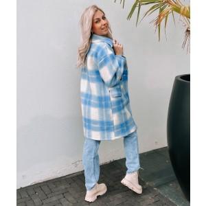 Kyara coat blue