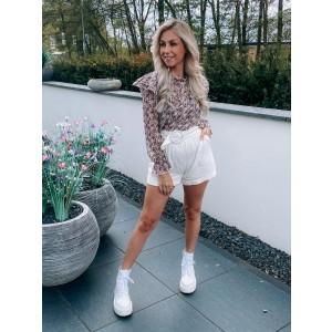 Sabine ruffle blouse