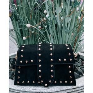 Kayla bag suede black