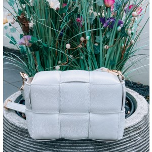 Mayee leather bag white