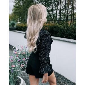 Loesje blouse dots black