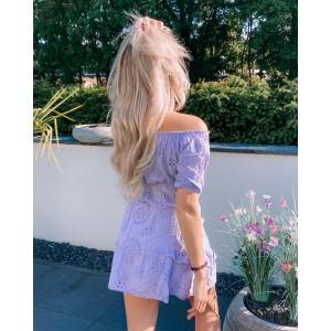 Naad set purple